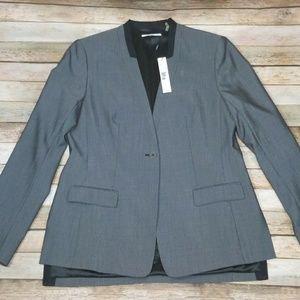 New T Tahari Career Blazer Charlie Jacket Size 8